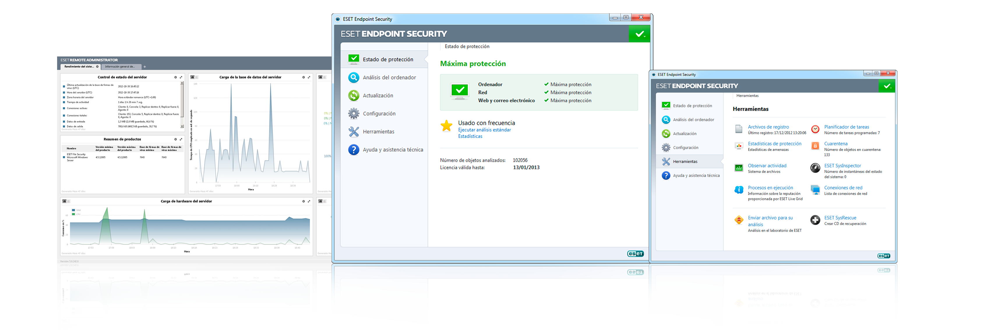 Open Screenshot Gallery for ESET NOD32 Endpoint Security